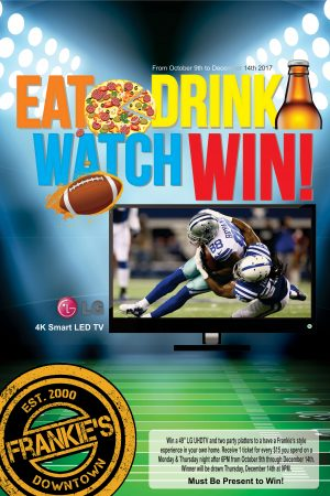 Eat-Drink-Watch-Win-Contest-Frankie's-Downtonw-Dallas-Sports-Bar