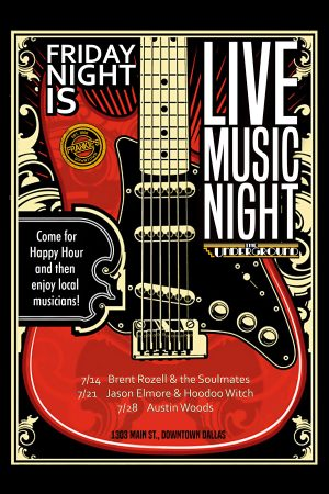 Friday Live Music July