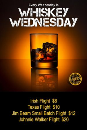 Whiskey-Wednesday-Frankie's-Sports-Bar-Downtown-Dallas