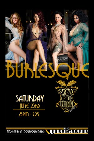 Dallas-Burlesque-Sirens-of-the-underground-Frankie's-Bar-Sports-Bar