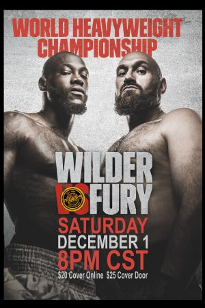 Wilder - Fury - Heavy - Weight - Championship - Boxing - Frankie's - Sports - Bar - Dallas