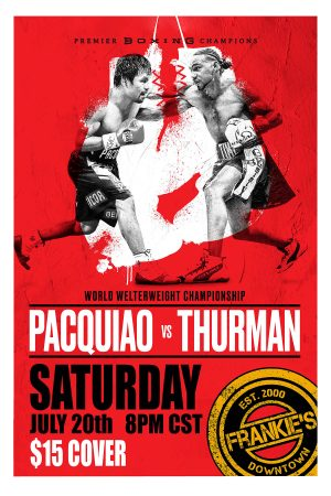 Pacquiao vs Thurmon - Welter - Weight - Championship - Boxing