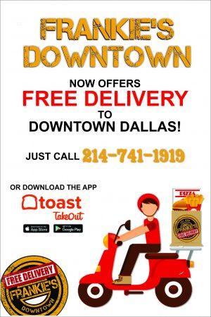 Frankie's - Downtown - Dallas - Free - Delivery - Downtown - Toast - Takeout _ Doordash